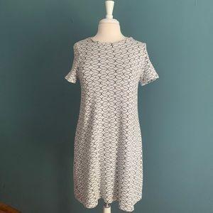 Zara print mini dress size M